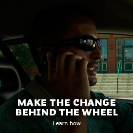 Make the change behind the wheel - Learn how